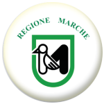 Marche Flag 58mm Button Badge